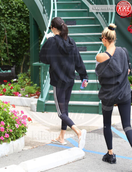 Hailey Baldwin, Kendall Jenner - Los Angeles - 19-08-2019 - Hailey Baldwin e Kendall Jenner, amiche... per lo sport!