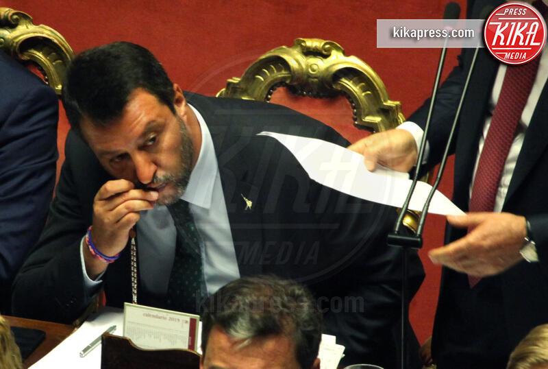 Matteo Salvini - Roma - 20-08-2019 - Addio 2019, le immagini simbolo dell'anno