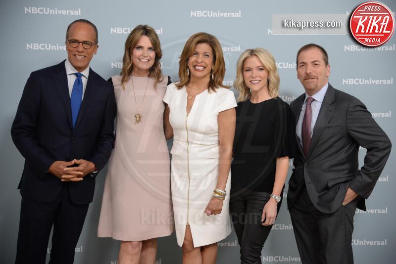Chuck Todd, Megyn Kelly, Savannah Guthrie, Lester Holt, Hoda Kotb - New York - 14-05-2018 - Bombshell, l'incredibile trasformazione di Charlize Theron