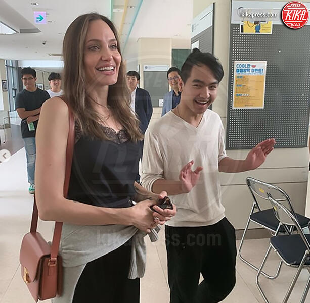 Maddox Jolie Pitt, Angelina Jolie - Corea del Sud - 23-08-2019 -