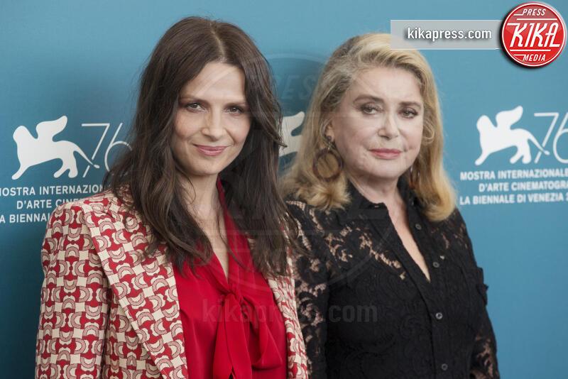 Juliette Binoche, Catherine Deneuve - Venezia - 29-08-2019 - Catherine Deneuve ha avuto un malore: