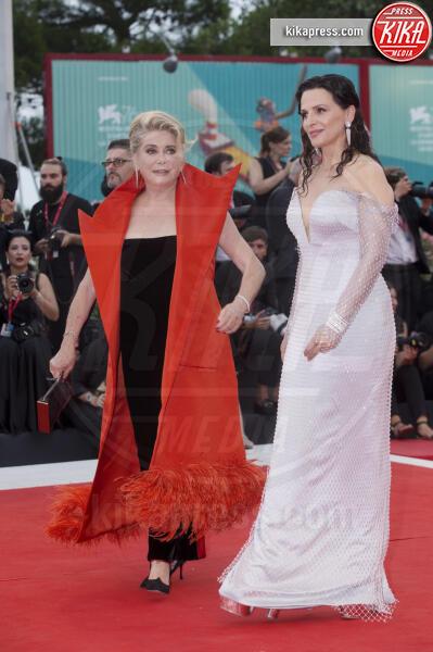 Juliette Binoche, Catherine Deneuve - Venezia - 28-08-2019 - Catherine Deneuve ha avuto un malore: