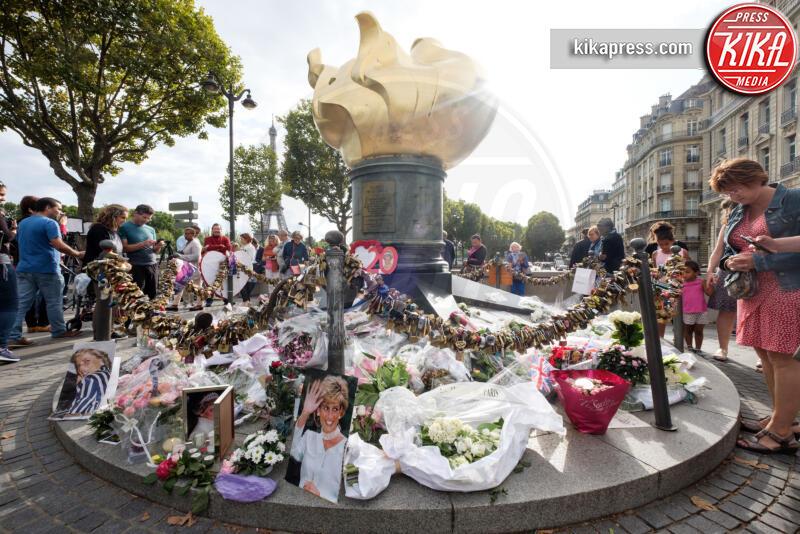Pont de l'Alma - Parigi - 31-08-2017 - Lady Diana, a 22 anni dalla morte una nuova rivelazione
