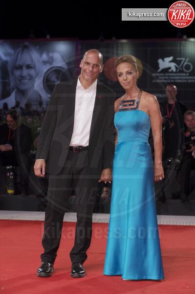 Danae Stratou, Yanis Varoufakis - Venezia - 31-08-2019 - Venezia 76: Adults in the room, realtà e finzione sul red carpet