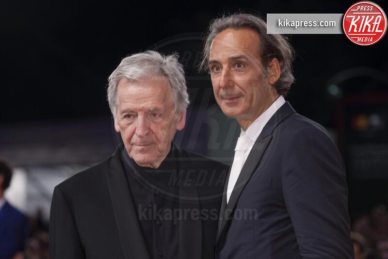 Costa-Gavras, Alexandre Desplat - Venezia - 31-08-2019 - Venezia 76: Adults in the room, realtà e finzione sul red carpet