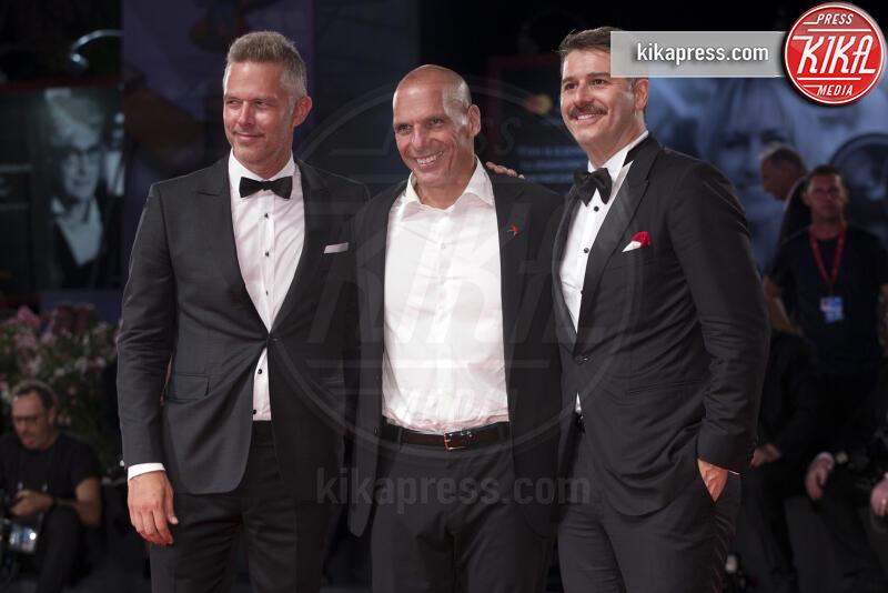 Christos Loulis, Alexandros Bourdoumis, Yanis Varoufakis - Venezia - 31-08-2019 - Venezia 76: Adults in the room, realtà e finzione sul red carpet