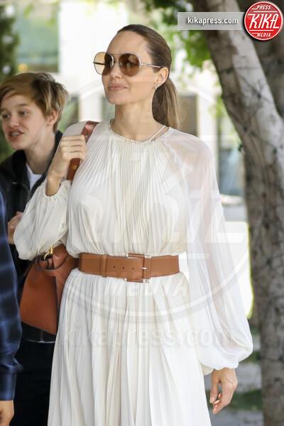 Shiloh Jolie Pitt, Angelina Jolie - Beverly Hills - 02-09-2019 - Angelina Jolie e le (rarissime) volte che ha scelto il colore