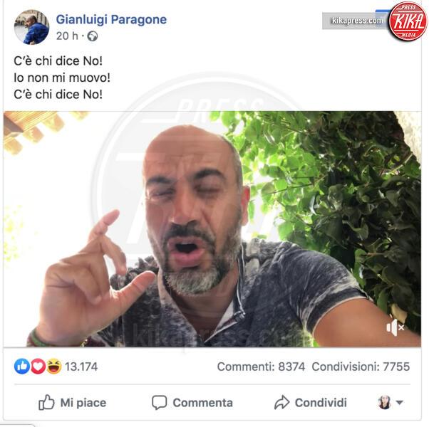 Gianluigi Paragone - 03-09-2019 - Vasco contro Paragone: