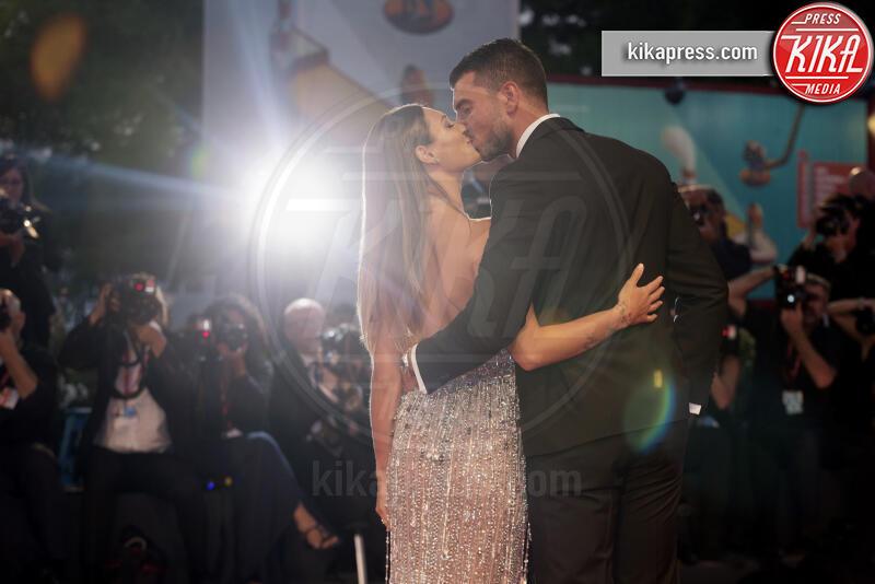 Beatrice Valli, Marco Fantini - Venezia - 03-09-2019 - Venezia 76: Rodriguez-Moser, l'amore sul red carpet