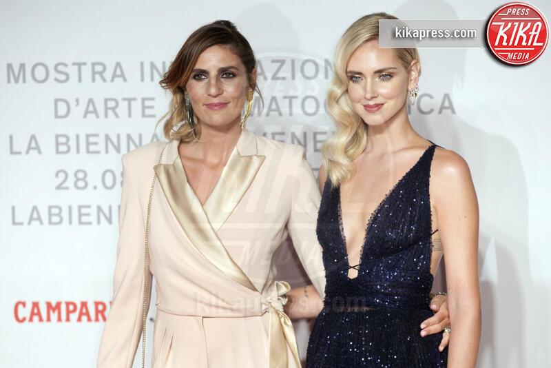 Elisa Amoruso, Chiara Ferragni - Venezia - 04-09-2019 - Venezia 76, è la notte di Chiara Ferragni: Unposted