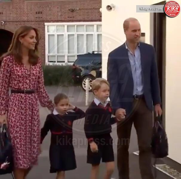 Principessa Charlotte Elizabeth Diana, Principe George, Principe William, Kate Middleton - Londra - 05-09-2019 - Kate Middleton, la sua prima school run per la piccola Charlotte