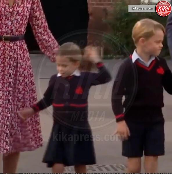 Principessa Charlotte Elizabeth Diana, Principe George - Londra - 05-09-2019 - Kate Middleton, la sua prima school run per la piccola Charlotte