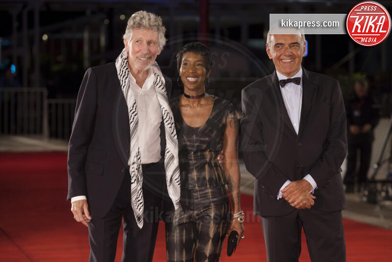 Alberto Barbera, Roger Waters - Venezia - 06-09-2019 - Venezia 76, Roger Waters porta i Pink Floyd al Festival