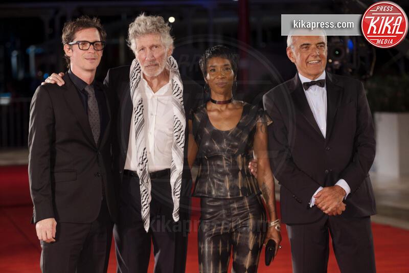 Sean Evans, Alberto Barbera, Roger Waters - Venezia - 06-09-2019 - Venezia 76, Roger Waters porta i Pink Floyd al Festival
