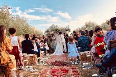 Francesco Motta, Carolina Crescentini - Grosseto - 09-09-2019 - Crescentini-Motta, tutti i dettagli sulle nozze