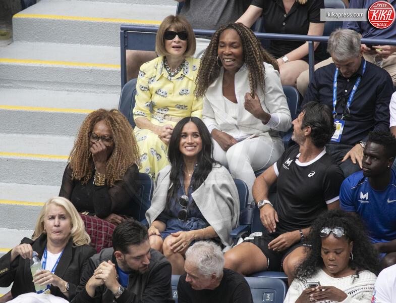 Meghan Markle, Anna Wintour, Venus Williams - Flushing Meadows - 07-09-2019 - Meghan Markle, il portaSfortuna di Serena Williams?