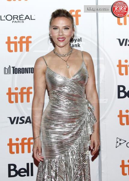 Scarlett Johansson - Toronto - 08-09-2019 - Toronto 2019, Scarlett Johansson stella d'argento sul red carpet