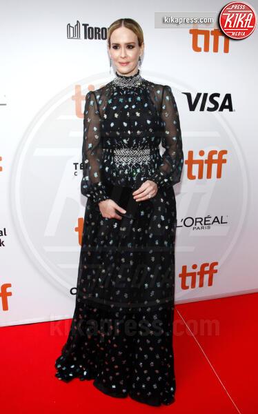 Sarah Paulson - Toronto - 08-09-2019 - Toronto 2019, Scarlett Johansson stella d'argento sul red carpet