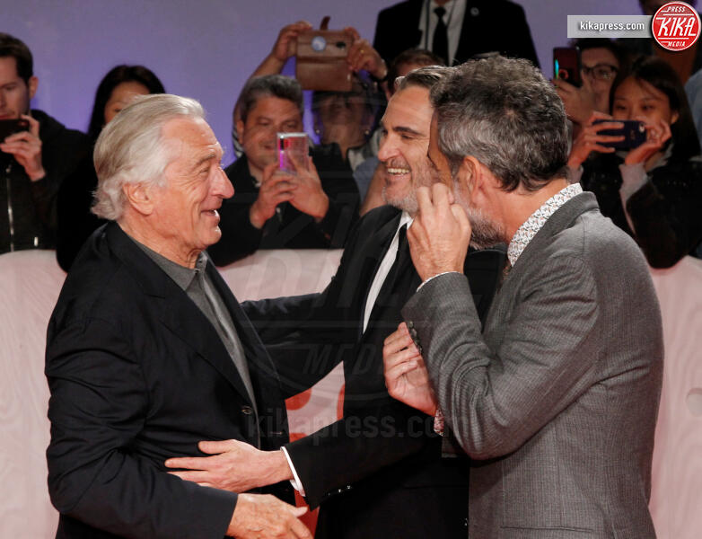 Todd Phillips, Joaquin Phoenix, Robert De Niro - Toronto - 10-09-2019 - Toronto 2019: Joker fa sorridere anche Bradley Cooper