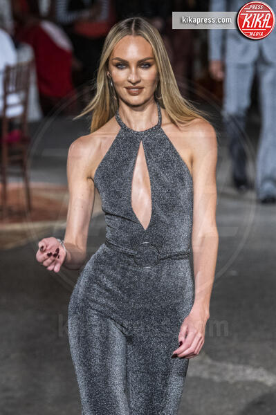 Sfilata Tommy Hilfiger, Candice Swanepoel - New York - 09-09-2019 - New York Fashion Week, la sfilata Tommy Hilfiger