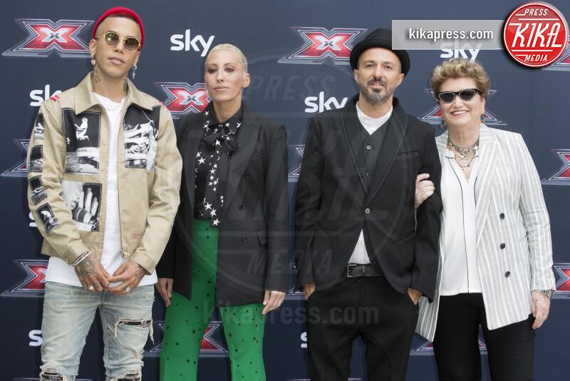 Sfera Ebbasta, Mara Maionchi, Samuel, Malika Ayane - Milano - 10-09-2019 - X Factor fa 13 con Maionchi, Samuel, Malika Ayane, Sfera Ebbasta