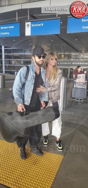 Tom Kaulitz, Heidi Klum - LA - Heidi Klum e Tom Kaulitz, passione in aeroporto: l'amore vola!