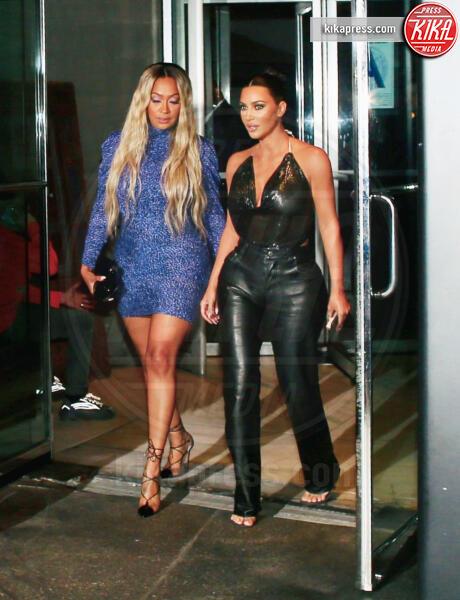 tristan thompson, Kim Kardashian - New York - 11-09-2019 - Kim Kardashian e le trasparenze un po' troppo hot...