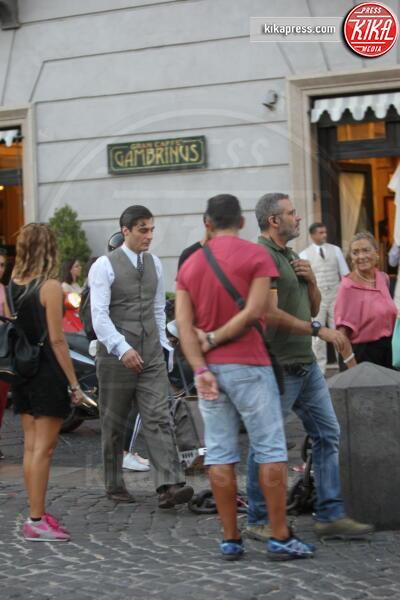 Lino Guanciale - Napoli - 12-09-2019 - Lino Guanciale sul set del Commissario Ricciardi