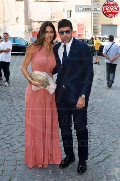 Giuliano Giannichedda, Federica Ridolfi - Roma - 16-09-2019 - Nozze Eleonora Daniele, gli ospiti vip e le foto più belle