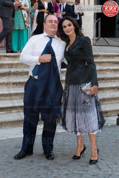 Giulio Violati, Maria Grazia Cucinotta - Roma - 16-09-2019 - Nozze Eleonora Daniele, gli ospiti vip e le foto più belle