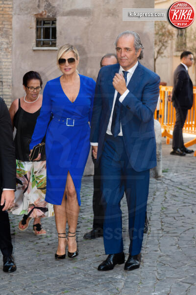 Giovanni Terzi, Simona Ventura - Roma - 16-09-2019 - Nozze Eleonora Daniele, gli ospiti vip e le foto più belle