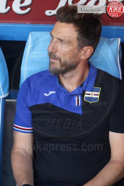 Eusebio Di Francesco - Napoli - 14-09-2019 - Napoli Samp 2 a 0: Mertens stende i blucerchiati