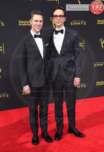 Todd Spiewak, Jim Parsons - Los Angeles - 16-09-2019 - Creative Arts Emmy Awards 2019, vincono Game Of Thrones e HBO
