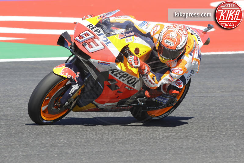 Marc Marquez - Rimini - 13-09-2019 - Moto Gp Misano: Vinales in pole position