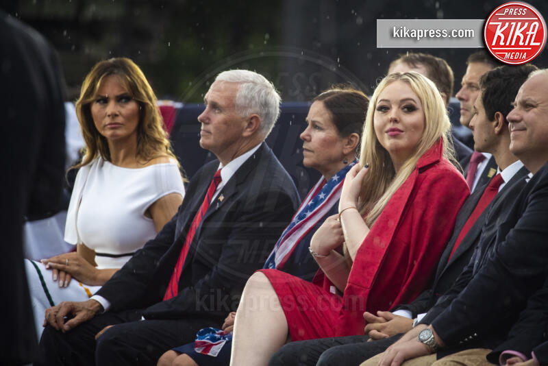 Melania Trump, Tiffany Trump - Washington - 04-07-2019 - Tiffany Trump: niente foto con papà Donald, è