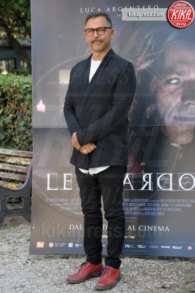 Jesus Garces Lambert - Roma - 18-09-2019 - Luca Argentero diventa Leonardo da Vinci per Sky