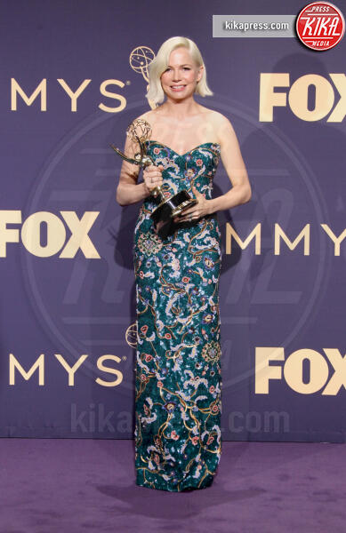 Fosse / Verdon&#39, Emmy Winner for Outstanding Lead Actress In A Limited Series Or Movie for &#39, Michelle Williams - Los Angeles - 22-09-2019 - Emmy 2019: trionfano Fleabag, Game of Thrones e Chernobyl