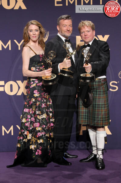 Emmy Winners for Outstanding Television Movie for 'Bandersnatch', Russell McLean, Annabel Jones, Charlie Brooker - Los Angeles - 22-09-2019 - Emmy 2019: trionfano Fleabag, Game of Thrones e Chernobyl
