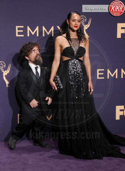 Nathalie Emmanuel, Peter Dinklage - Los Angeles - 22-09-2019 - Emmy 2019: trionfano Fleabag, Game of Thrones e Chernobyl