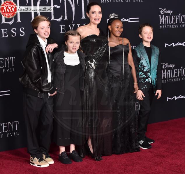 Zahar Jo, Vivienne Jolie-Pitt, Shiloh Jolie-Pitt, Angelina Jolie - Hollywood - 30-09-2019 - Genitori da record: James Van del Beek al sesto figlio!