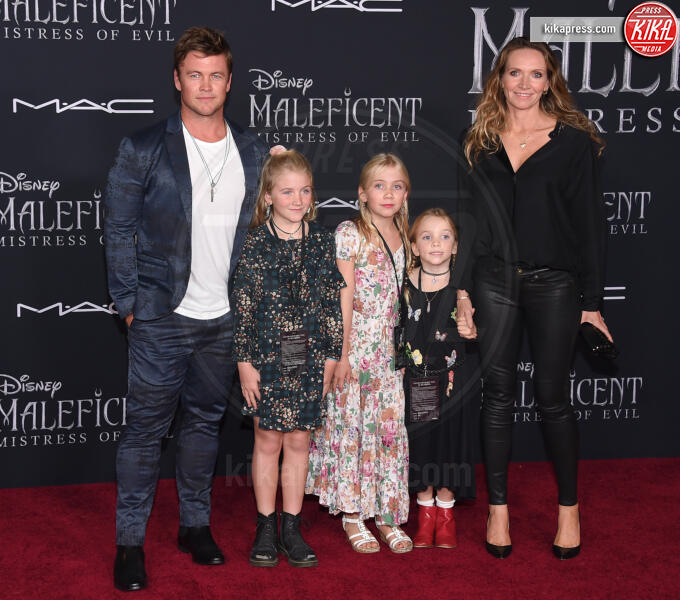 Alexandre Hemsworth, Harper Rose Hemsworth, Holly Hemsworth, Samantha Hemsworth, Luke Hemsworth - Hollywood - 31-10-2019 - Maleficent 2: premiere di famiglia a Hollywood