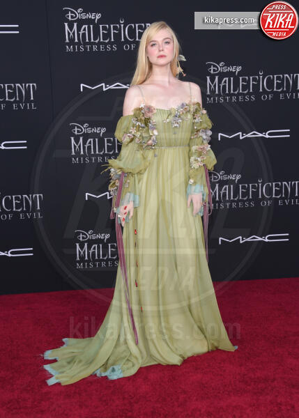 Elle Fanning - Hollywood - 31-10-2019 - Maleficent 2: premiere di famiglia a Hollywood