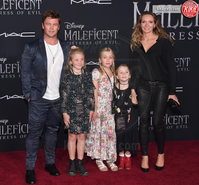 Samantha Hemsworth, Luke Hemsworth - Hollywood - 31-10-2019 - Maleficent 2: premiere di famiglia a Hollywood
