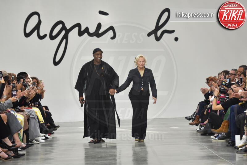 Oxmo Puccino, Sfilata Agnes B, Agnes B - Parigi - 30-09-2019 - Parigi Fashion Week: la sfilata di Agnes B.
