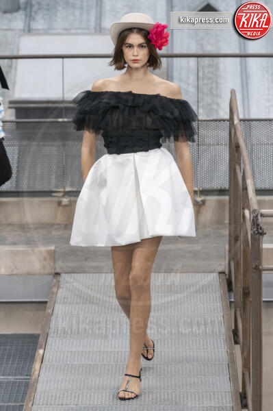 Sfilata Chanel - Parigi - 01-10-2019 - Parigi Fashion Week: la sfilata sui tetti parigini di Chanel