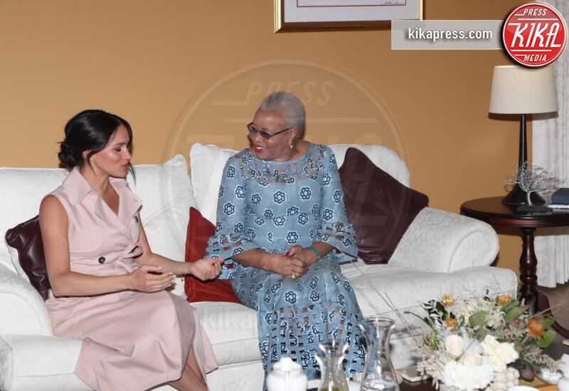 Meghan Markle, Graca Machel - Johannesburg - 02-10-2019 - Emozione Meghan Markle, l'incontro con la vedova Mandela