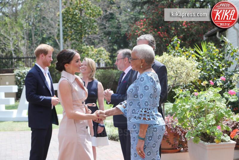 Meghan Markle, Graca Machel, Principe Harry - Johannesburg - 02-10-2019 - Emozione Meghan Markle, l'incontro con la vedova Mandela