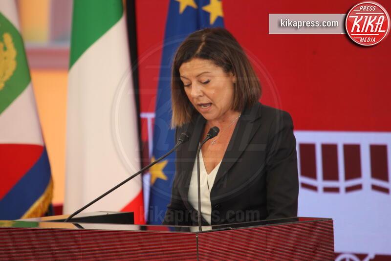 Paola De Micheli - Napoli - 05-10-2019 - Sergio Mattarella festeggia l'anniversario della Napoli-Portici