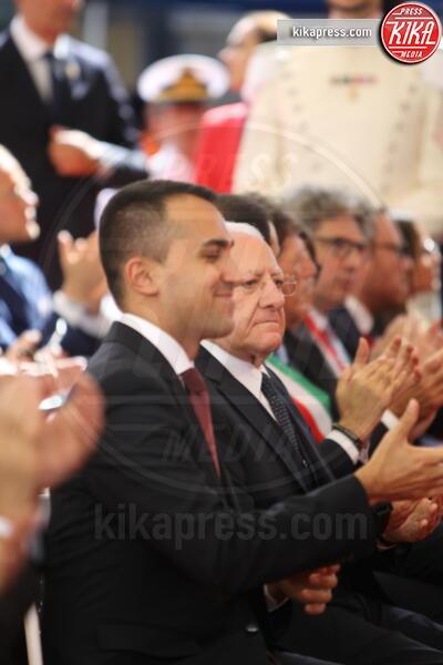 Luigi Di Maio - Napoli - 05-10-2019 - Sergio Mattarella festeggia l'anniversario della Napoli-Portici