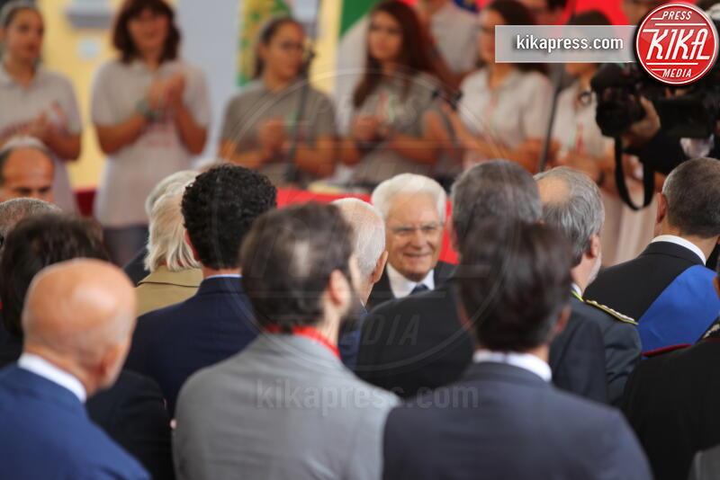 Sergio Mattarella - Napoli - 05-10-2019 - Sergio Mattarella festeggia l'anniversario della Napoli-Portici